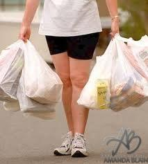 I would rather try and carry 10 grocery bags in each hand at once
