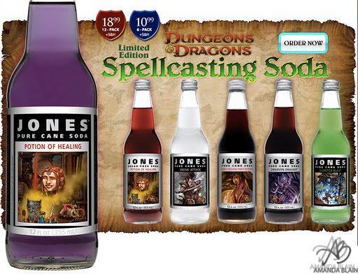 i ll take a potion of healing soda please