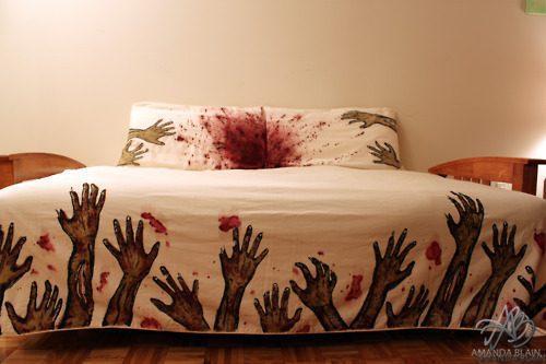 never sleep alone duvet cover