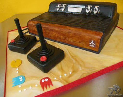This is an Atari Cake, Yes a Cake!