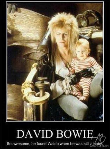 david bowie found waldo when he was a baby