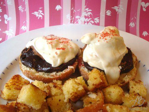 Cadbury Creme Eggs Benedict For the Foodies!