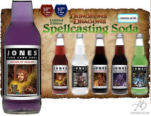 I'll take a Potion of Healing Soda Please