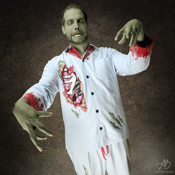 Awesome Zombie PJs For Halloween