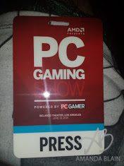 pc gaming show at e3 2015