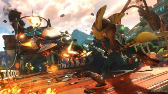 Ratchet and Clank 2016 Video Game Review