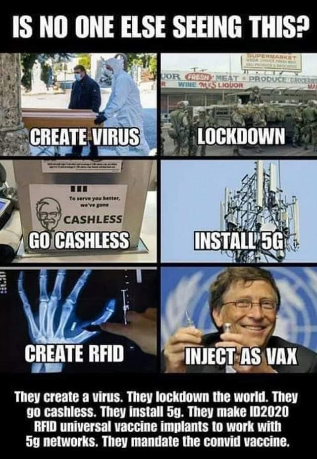 Bill Gates, COVID-19, 5G and ID2020 Conspiracy Explained