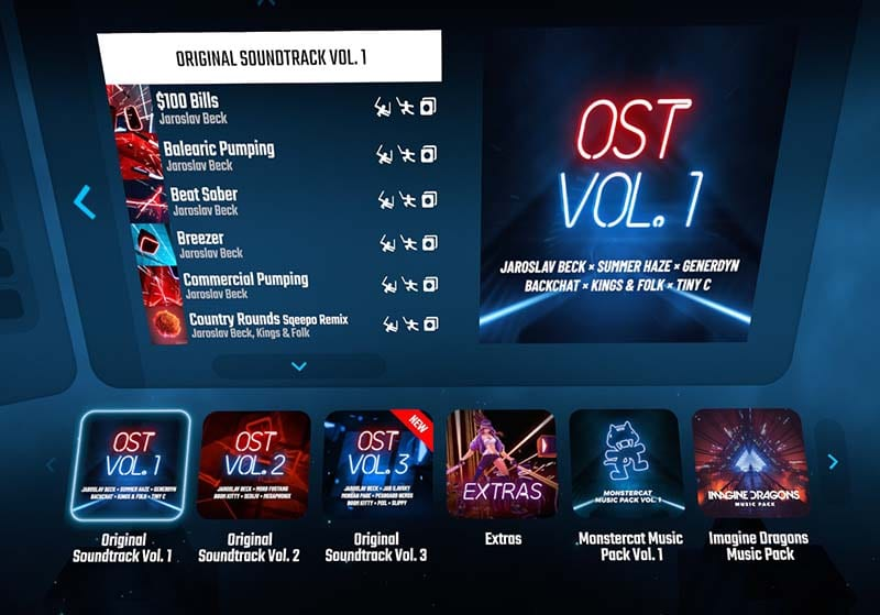 must have vr oculus quest 2 games beatsabermenu